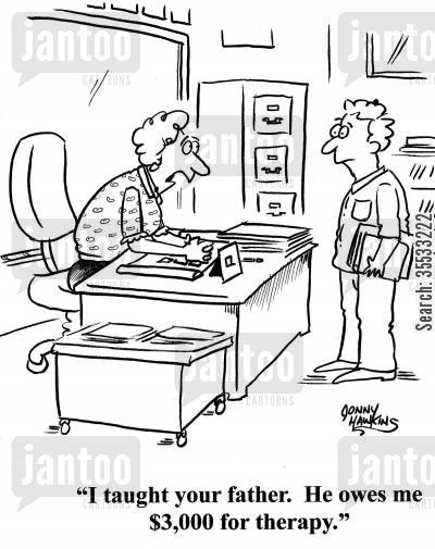 Teacher Stress Cartoon - What Is The # 1 Doctor Suggested ...
