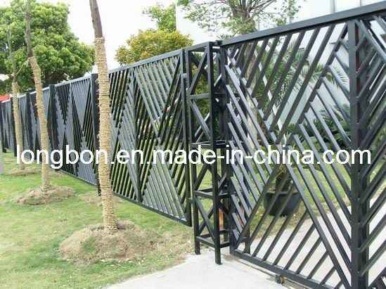 Modern Wrought Iron Fence Design For Home And Garden Lb G F 0069