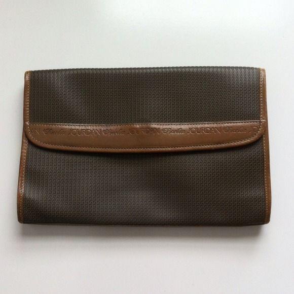 Charles Jourdan Charles Jourdan Clutch Handbag Leather