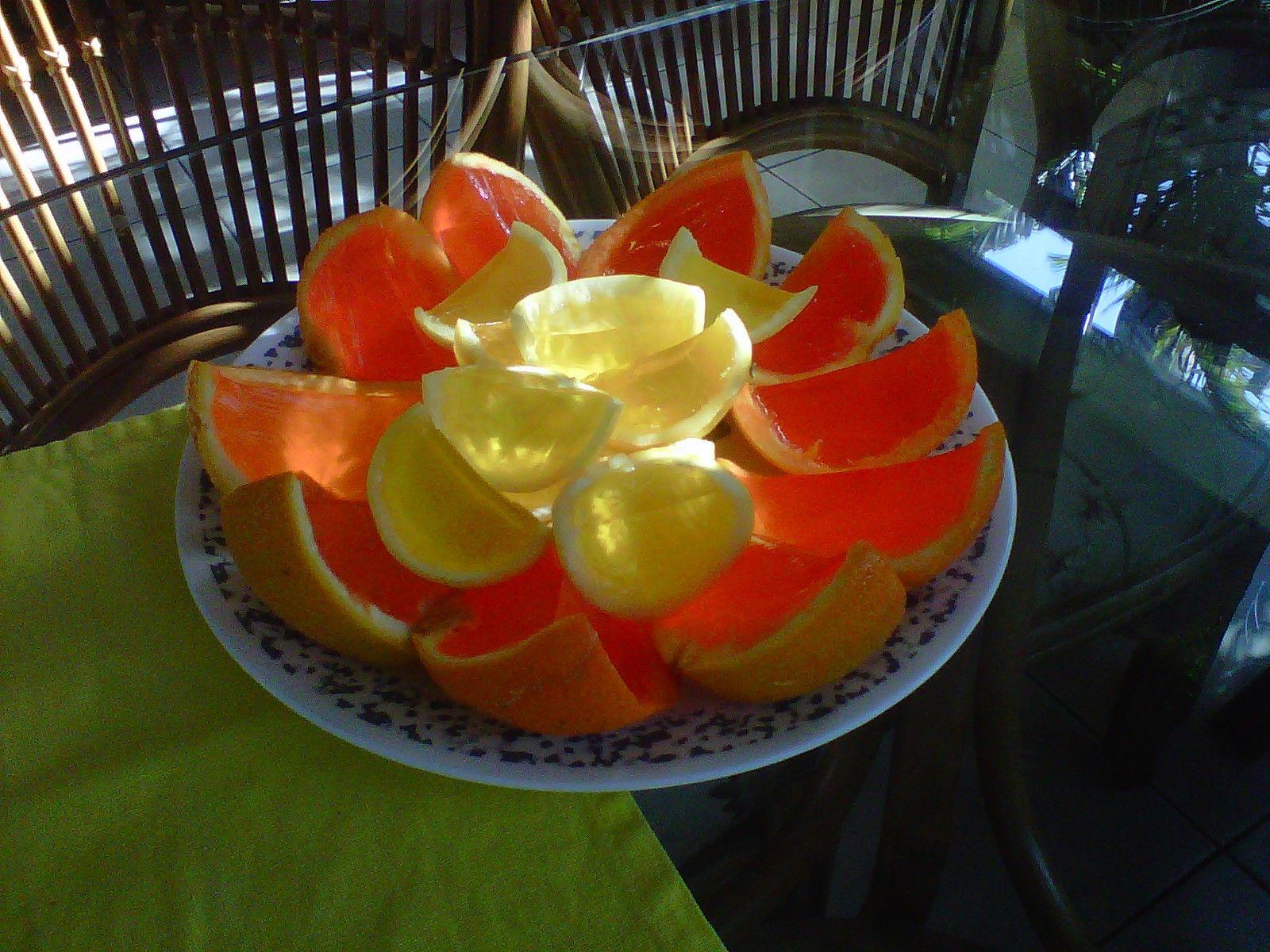 Lemon/Orange Jello Shots