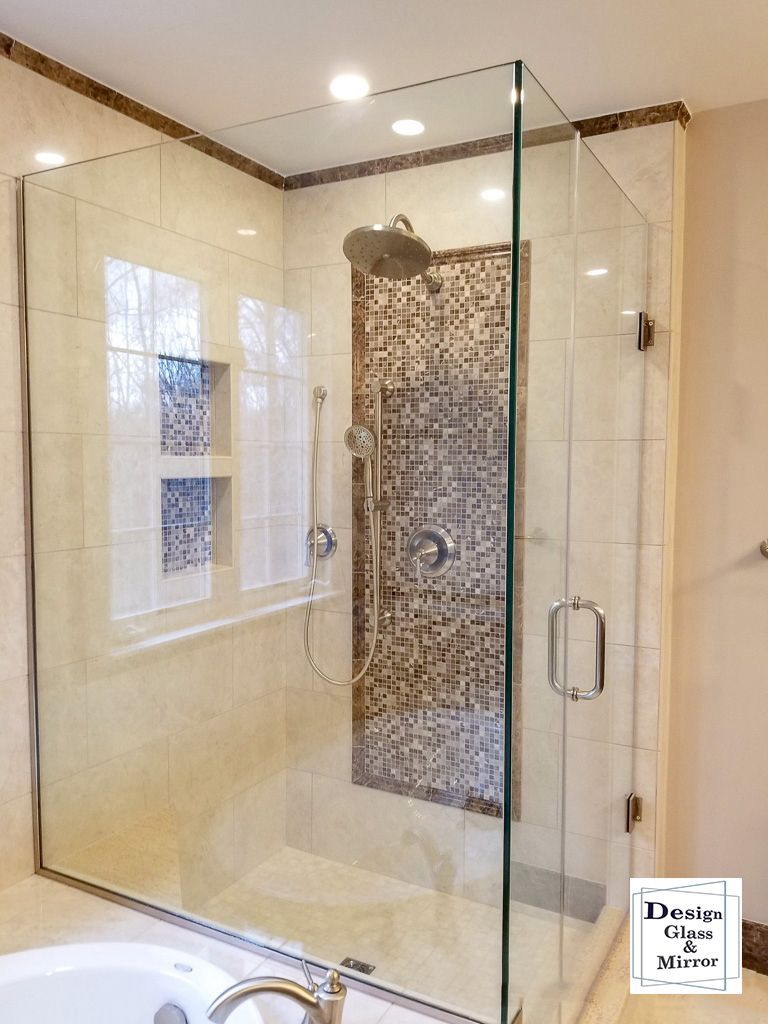 Pin By Design Glass Mirror Llc On 90 Degree Shower Enclosure