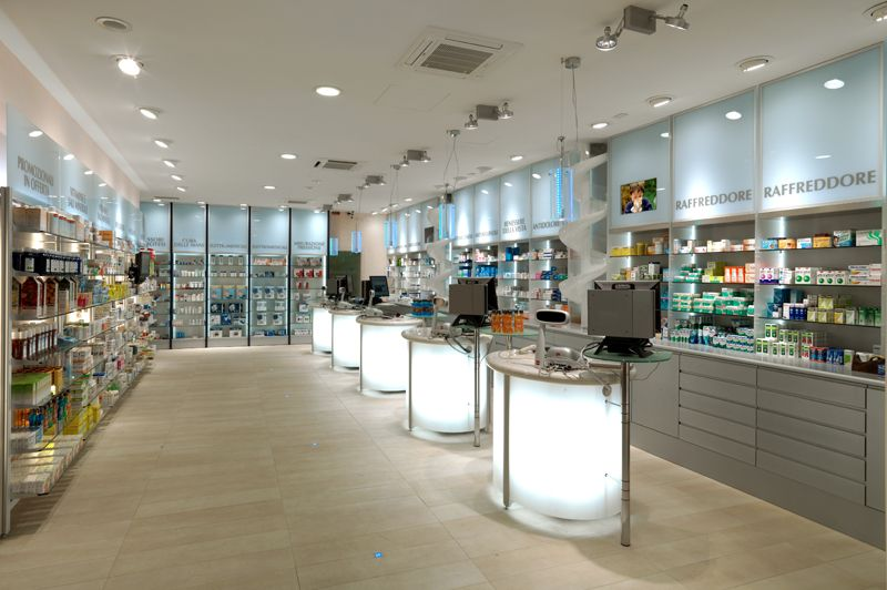 sartoretto verna fittings for pharmacy design in italy and all over the world 6 series of patented pharmacy furniture - Pharmacy Design Ideas