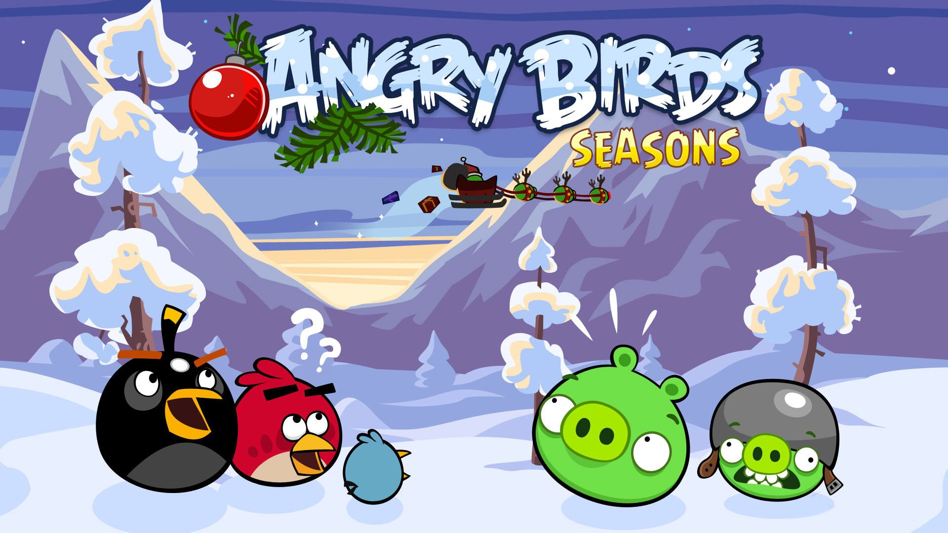 Angry Birds Christmas HD Wallpapers These Wallpaper Backgrounds Are Free To Download And Available InHigh