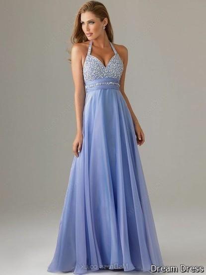 Pastel Blue Prom Dress 2017 2018 Dreamydress Baile De Formatura