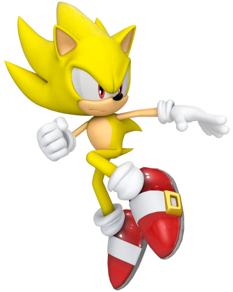 Super Sonic Final By Cyberphonic4d Sonic Sonic Party Sonic Birthday
