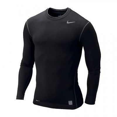 8c532015 RARE NIKE MEN'S PRO CORE LS T PRO TIGHT SHIRT 5XL BLACK NIKE FIT 269607