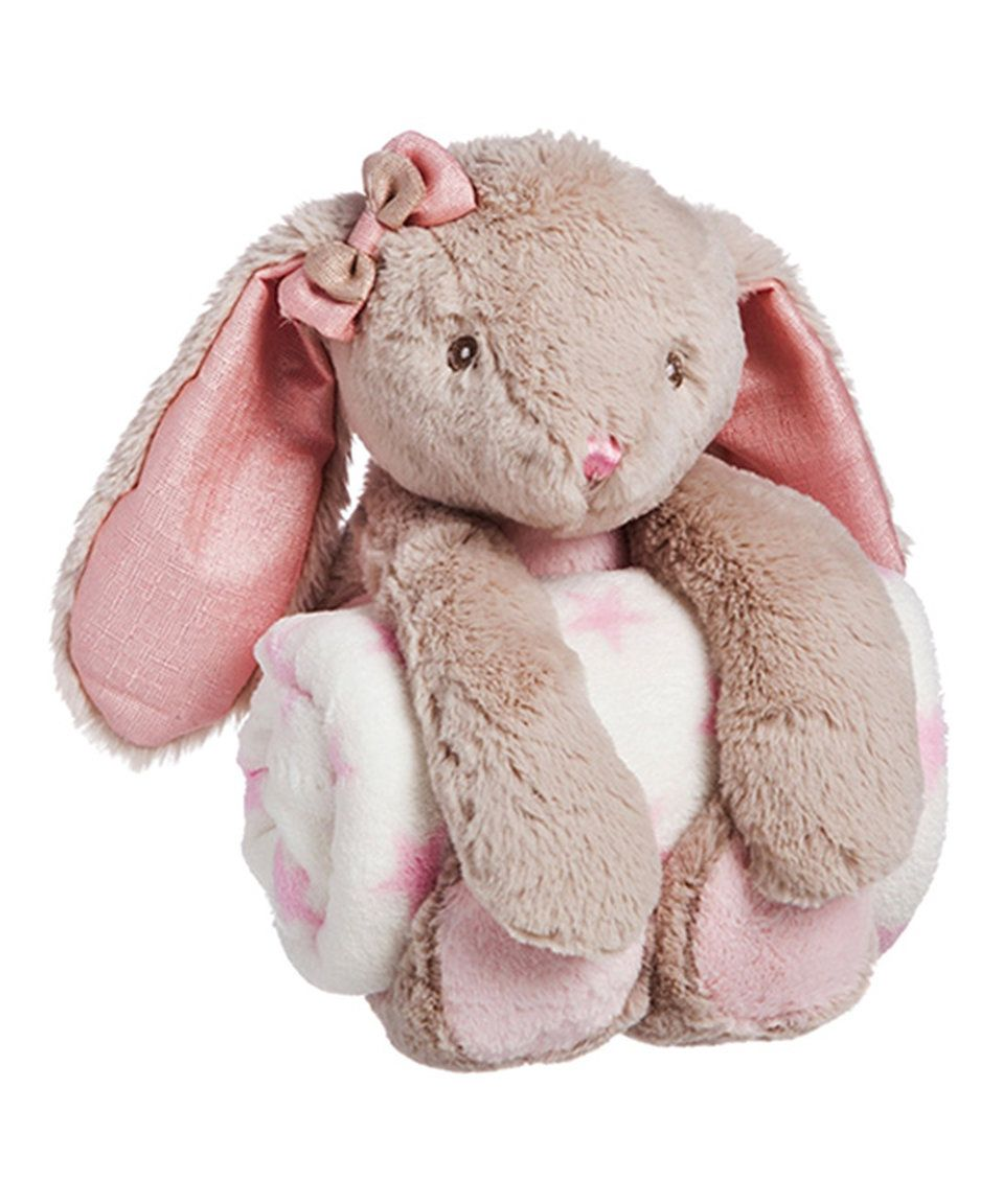 Take a look at this Pink Rabbit Plush Toy & Blanket today