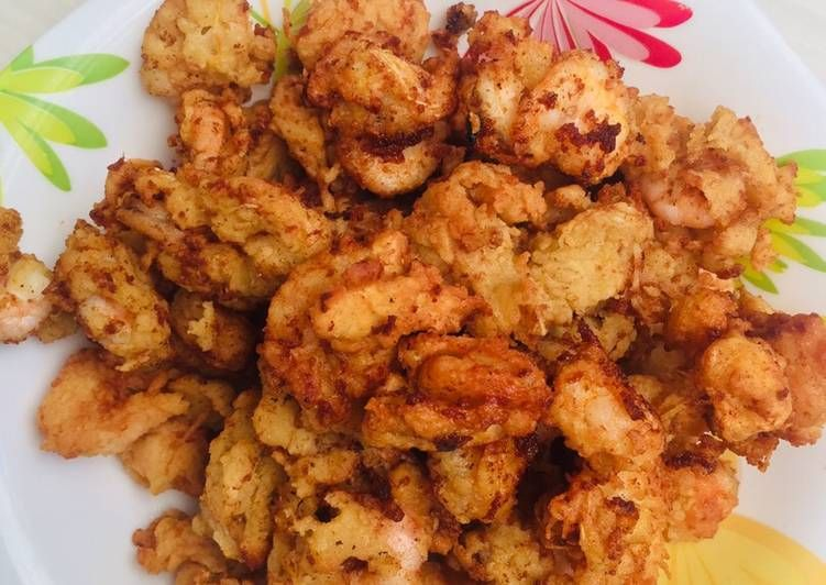 Resep Udang Goreng Krispi Oleh Ghaasiyah Larasati Resep Resep Udang Makanan Udang