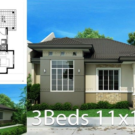 House Design Plan 8x16 5m With 6 Bedrooms Home Design Plan Small House Design Plans Home Design Plans