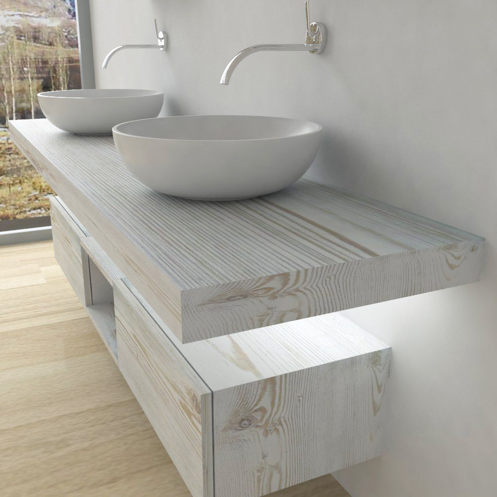 Piano Per Lavabo Da Appoggio mobili bagno - mensola per lavabo con led | arredamento
