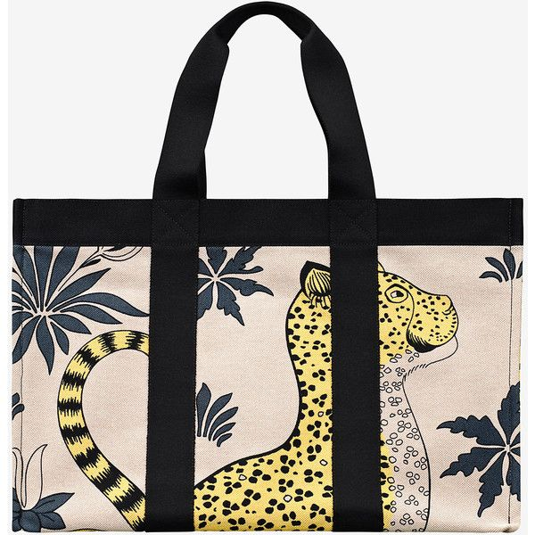 Leopards Beach Bag 2 865 Aud Liked On Polyvore Featuring Bags Handbags
