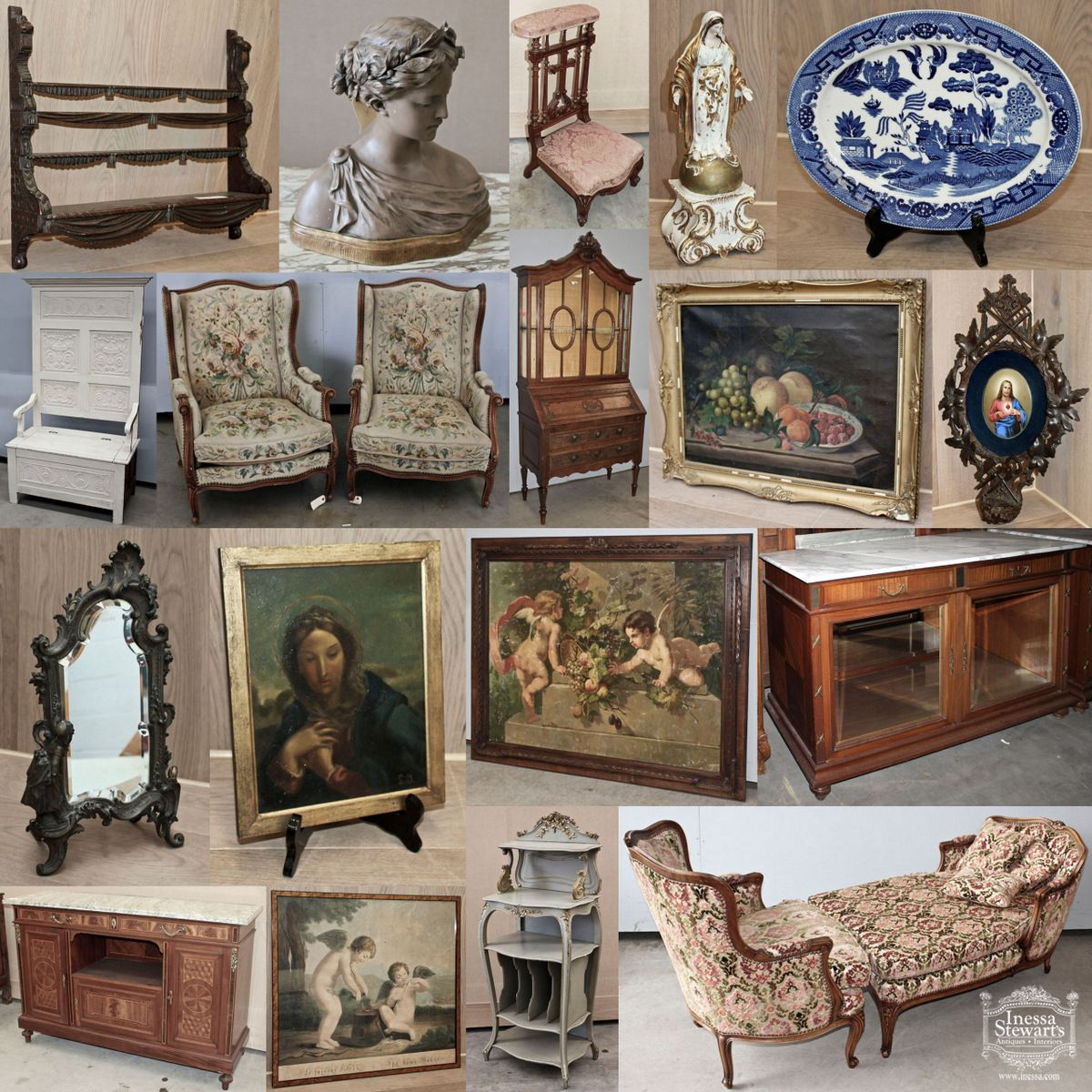 A small sampling of the newest #antique arrivals to our Baton Rouge store! - A Small Sampling Of The Newest #antique Arrivals To Our Baton Rouge