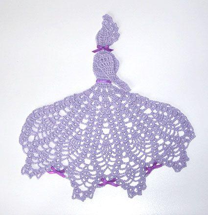 Crinoline Girl Accessory Collection – Free Crochet Pattern Set | 439x425
