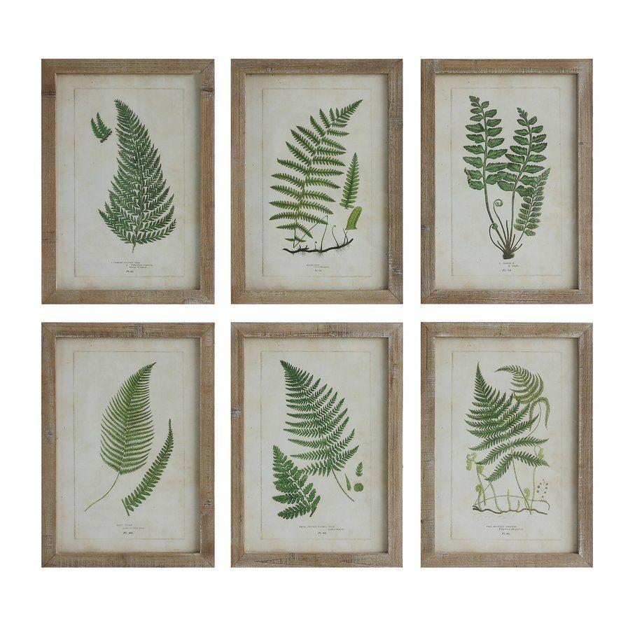 Fern Gatherer 6 Piece on Wood Set   Floral Fun   Pinterest