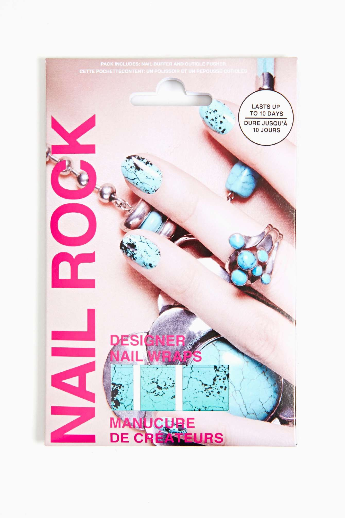 Turquoise Nail Wrap | Shop Sale at Nasty Gal