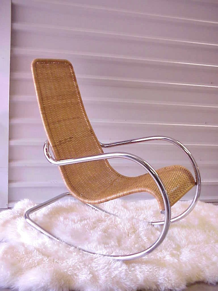 Swell Ludwig Mies Van Der Rohe Style Steel Rocker Mid By Creativecarmelina Interior Chair Design Creativecarmelinacom