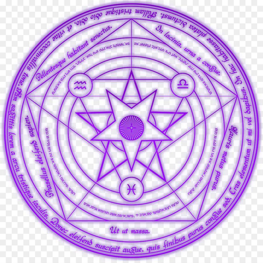 Magic Circle Occult Incantation Circle Summoning Circle Spell Circle Magic Circle