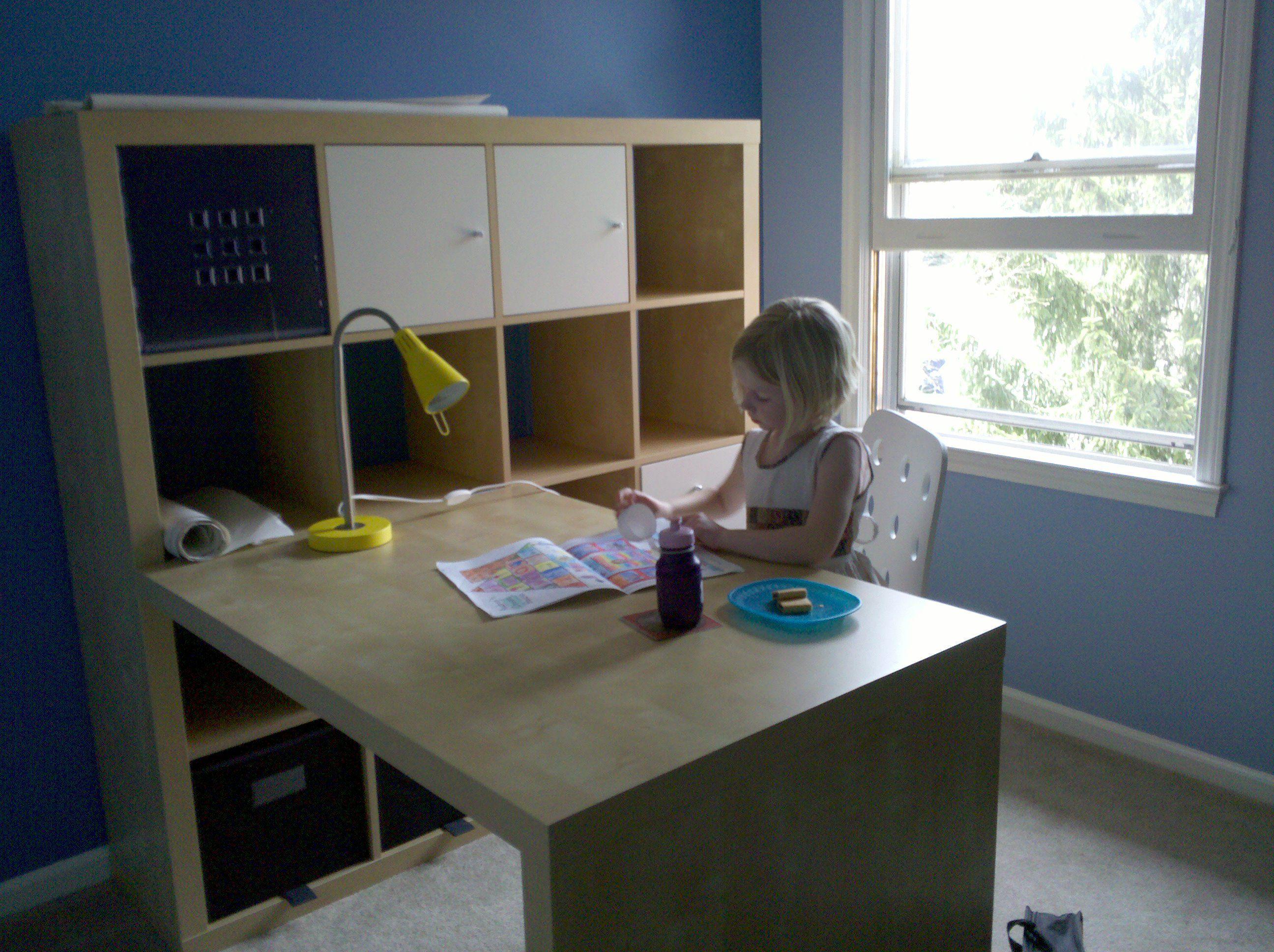 expedit ikea workspaces photo expedit desk bookcase. Black Bedroom Furniture Sets. Home Design Ideas