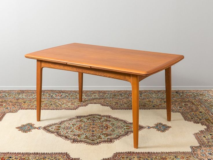 Dining Table By Svend Aage Madsen For K Knudsen 1960s Dining Table Pine Dining Table Dining Table With Bench