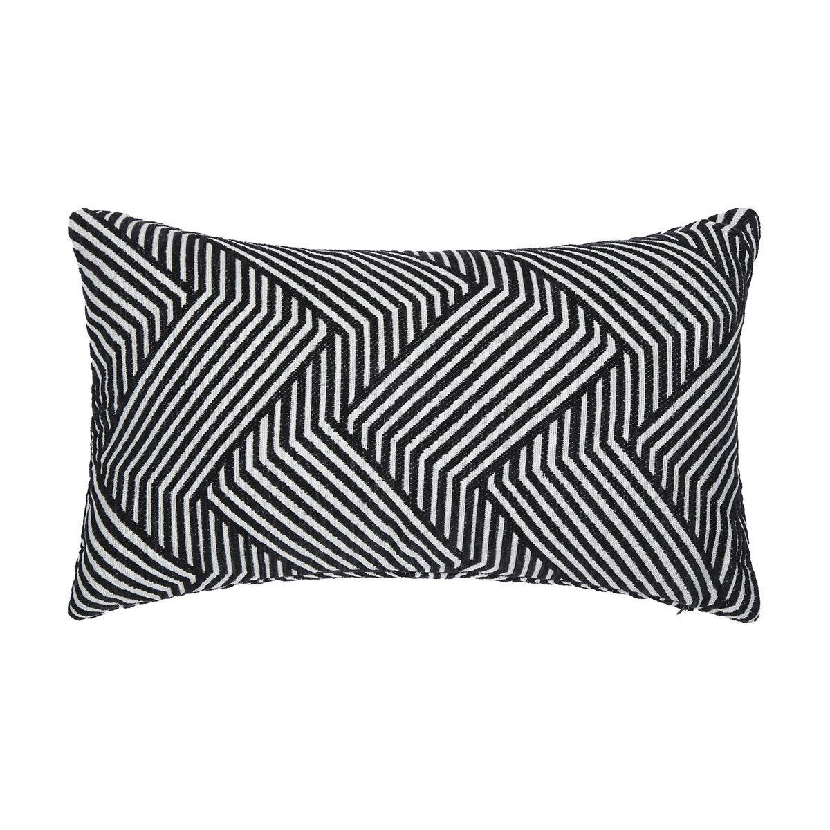 Breakfast Chenille Cushion Geo Kmart Cream cushions