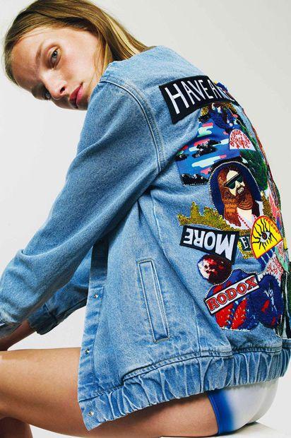 008e0f909abf Liefert diese Saison die coolsten Jeansjacken  das französische Label  Filles à papa