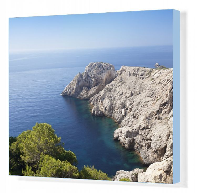 Canvas Print-Cap de Capdepera, Majorcas easternmost point, near Cala Ratjada, Majorca (Mallorca), Balearic Islands (Islas Baleares), Spain, Med-2