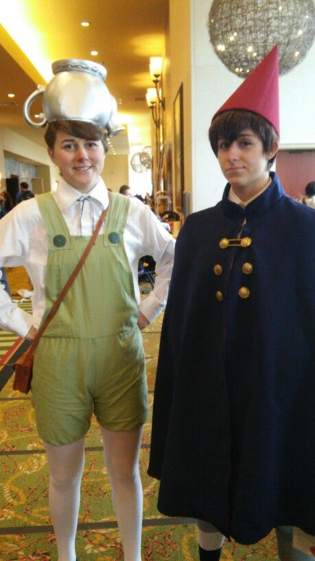 Greg And Wirt Over The Garden Wall Ermmahgosssh That Guy Cosplaying Is Ccuuuuuuuuuttee