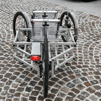 N55 S Spaceframe Tricycle Can Be Built At Home From Plans Tricycle Bike Design Construction Plan