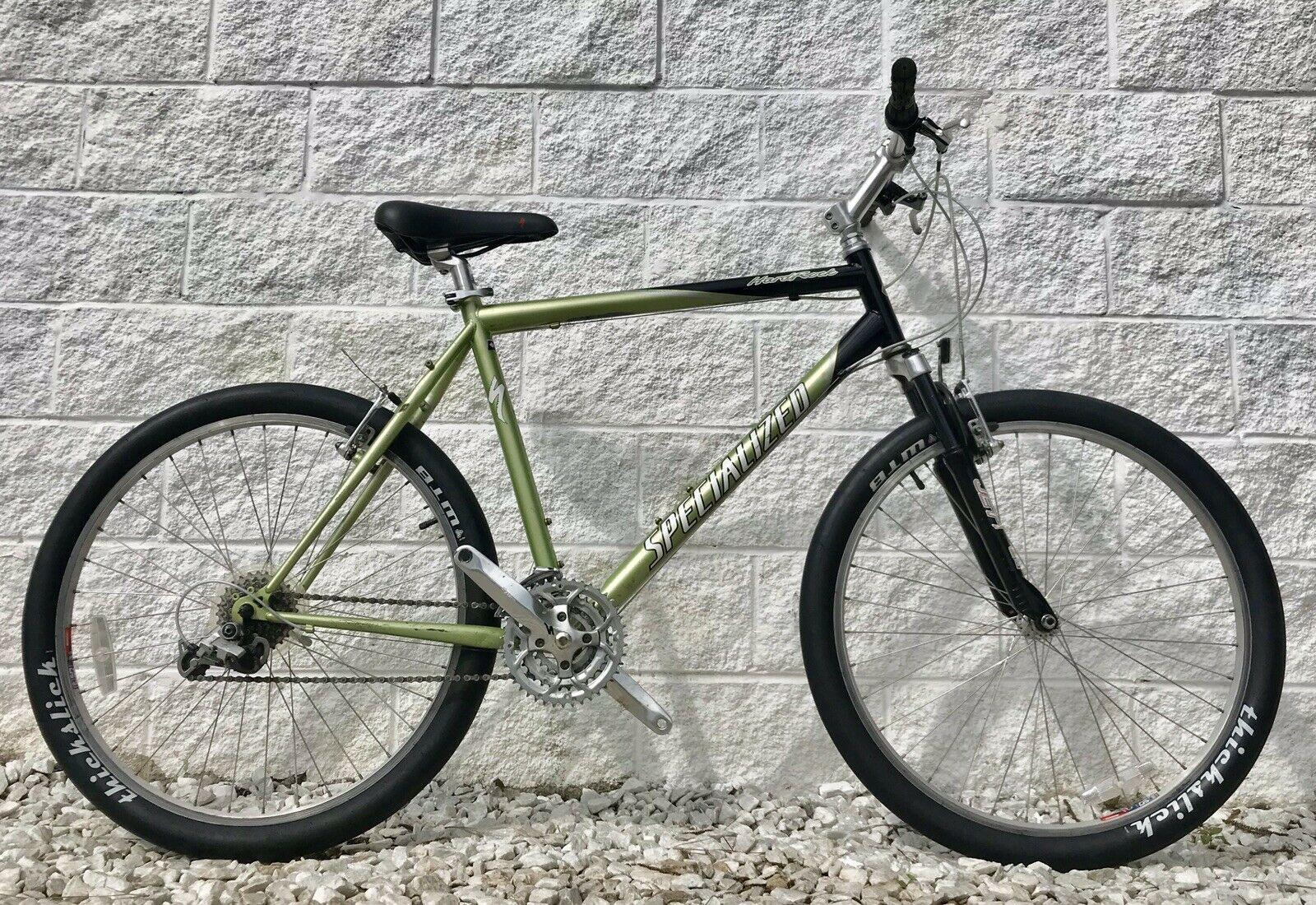Vintage Specialized Hardrock 21 21 Speed Mountain Bike W Rockshoxgripshifters Mountain Bike Ideas Of Mountain Bike Mo Mountain Bikes For Sale Bike Bicycle