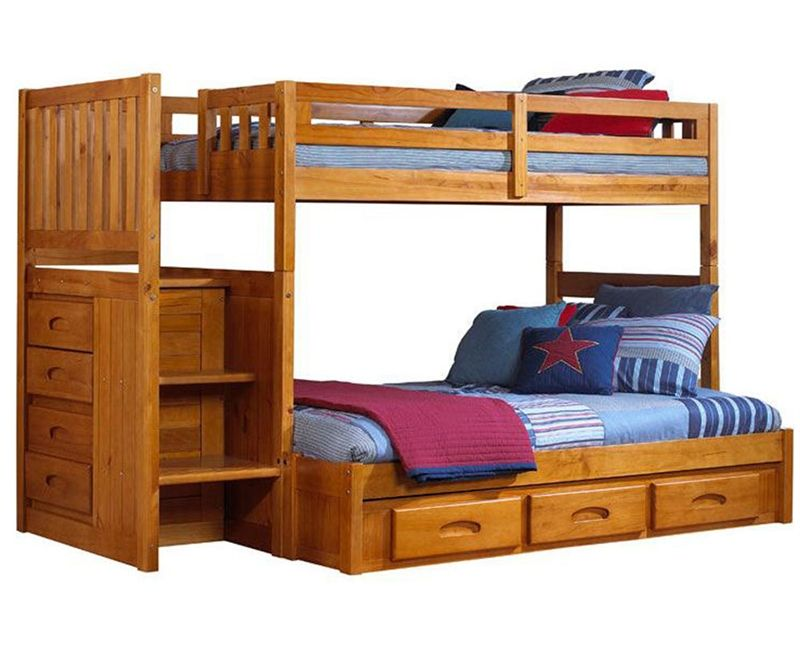 Honey Stairstepper Bunk Bed In Orlando And Tampa Fl Kids Bunk Beds