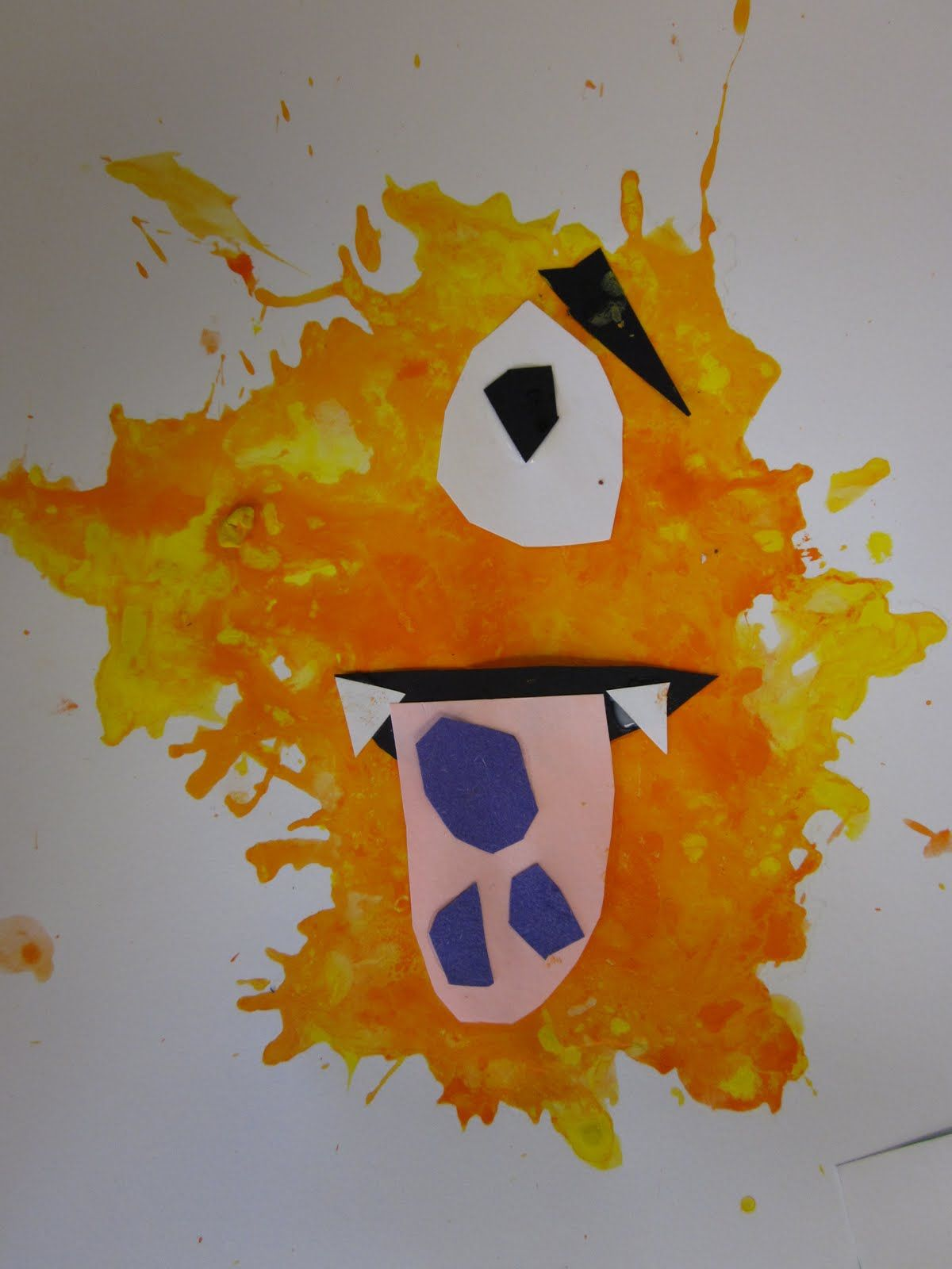 Monster Art Projects For Kindergarten