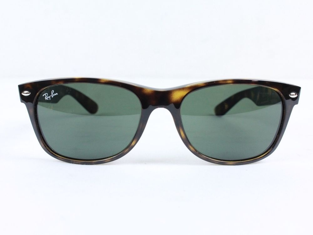 c8d12d8178 Ray-Ban New Wayfarer RB2132   902L 55   18 3N Tortoise Frame Brown  fashion   clothing  shoes  accessories  unisexclothingshoesaccs  unisexaccessories  (ebay ...