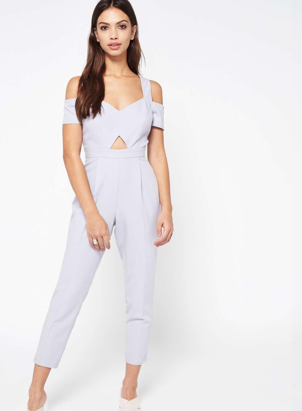 897284aedfa9 PETITE Lilac Jumpsuit - Petite Playsuits   Jumpsuits - Petites - Miss  Selfridge