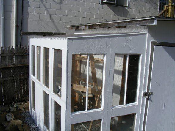 Urban Greenhouse Alex S Hobby Site Best Greenhouse Diy Greenhouse Urban Backyard