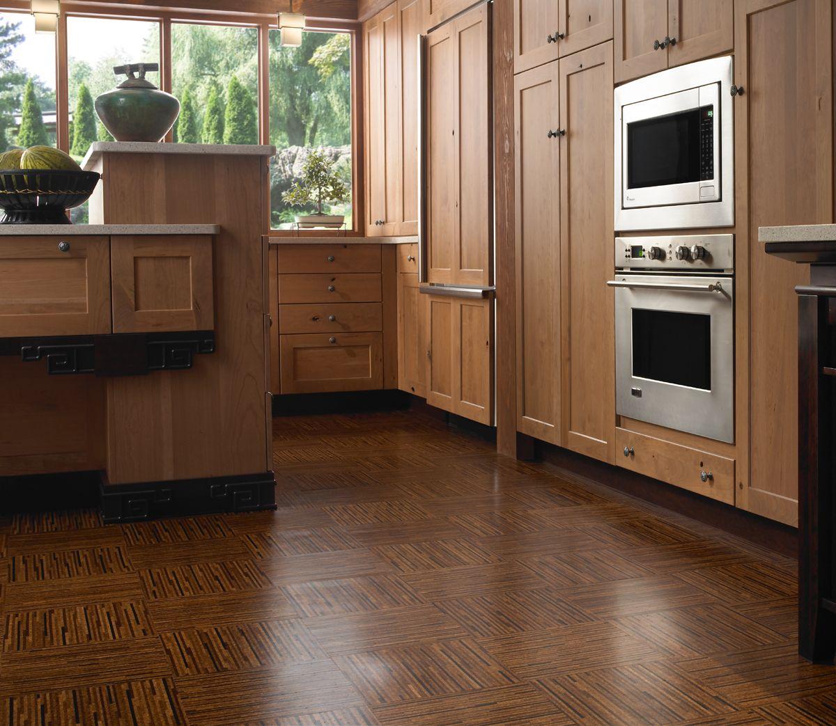 Dark cork flooring | Ideas for the House | Pinterest