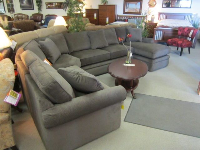 Lazy Boy Collins Sectional Grey I Love This Home Living Room