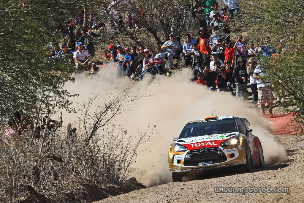 WRC 2013: Rally Argentina: Previo Citroën