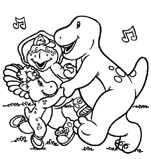 Pin By Yvonne Kruszelnicki On Barney Old Friends Super Coloring Pages Coloring Pages Dinosaur Coloring Pages