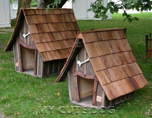 20 DIY Dog House Ideas