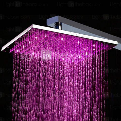 68 30 Contemporary Rain Shower Nickel Brushed Feature Rainfall