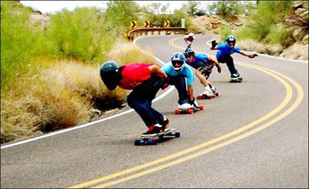 The Northridge Longboarders Group - SKATE[SLATE]