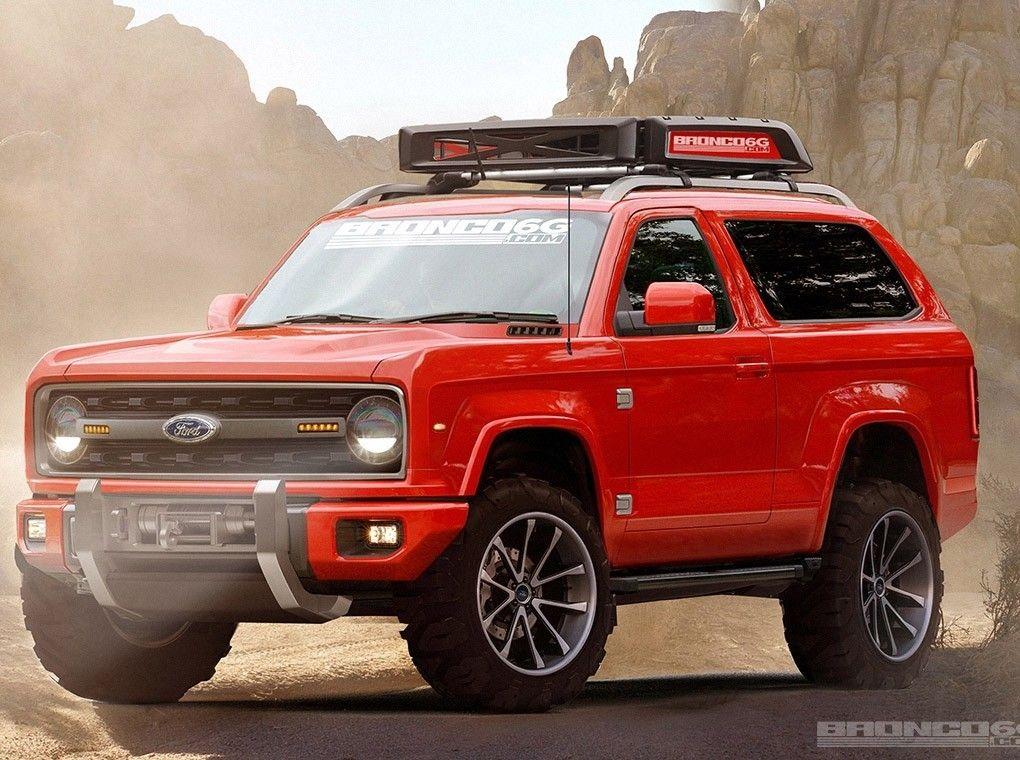 Ford Bronco Utilitario Da Ford Vai Voltar A Ser Produzido A