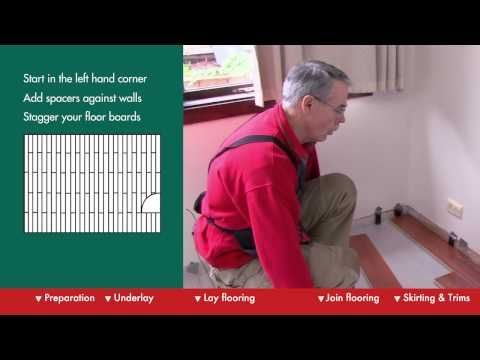 How To Lay A Floating Floor Diy At Bunnings Youtube With Images Diy Flooring Floating Floor Flooring