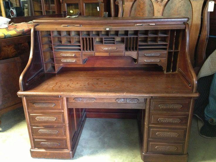 Image result for old desks - Image Result For Old Desks OLD ROLL TOP DESKS ARE GREAT