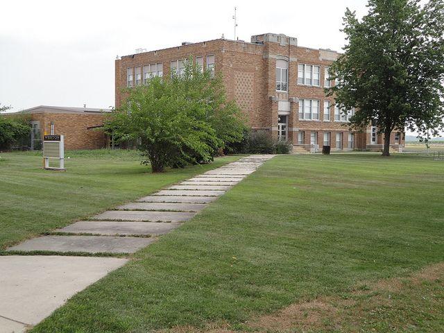 School..... Weston, Ohio.  This was my elementary school.