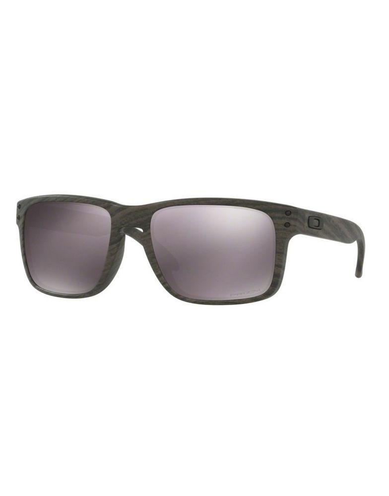 89be0bfd3755 Sunglasses OAKLEY HOLBROOK 9102-B7 Woodgrain Prizm Daily Polarized (eBay  Link)