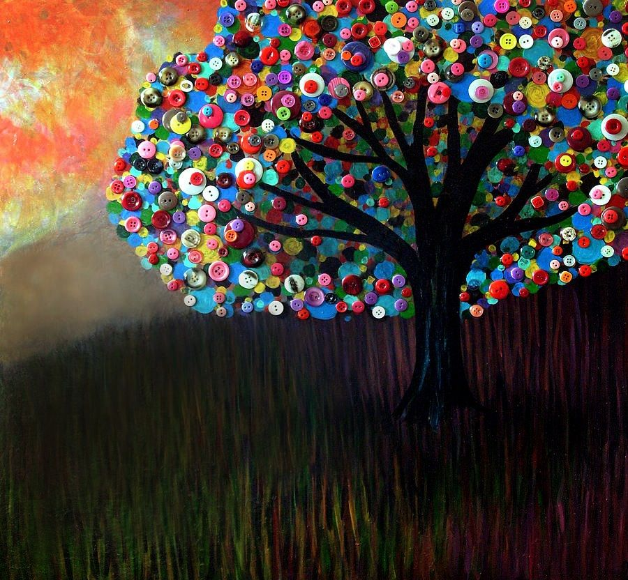 Monica Furlow Button Tree 3