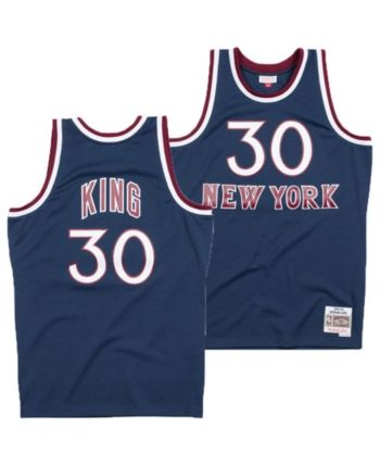 sale retailer 9d3be ad8f5 Mitchell & Ness Men Bernard King New York Knicks Hardwood ...