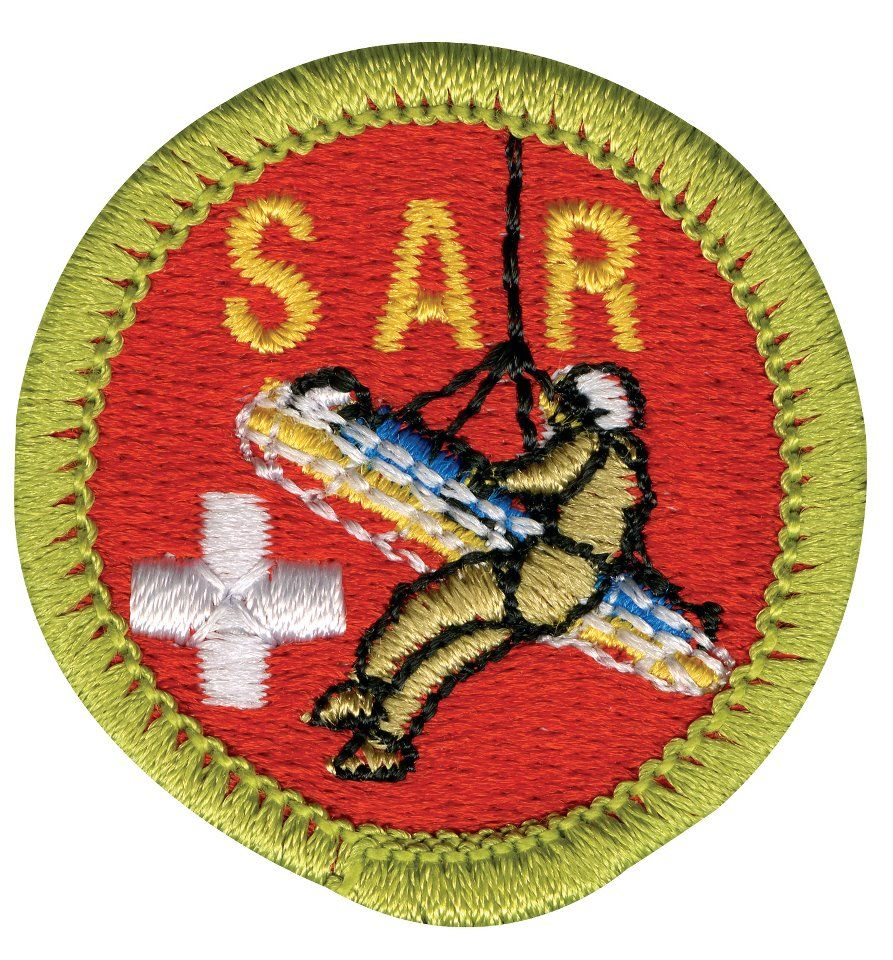 Search and rescue badge from the boy scouts of america search search and rescue merit badge requirements this new merit badge teaches boy scouts what is involved in search and rescue missions so they will be prepared biocorpaavc