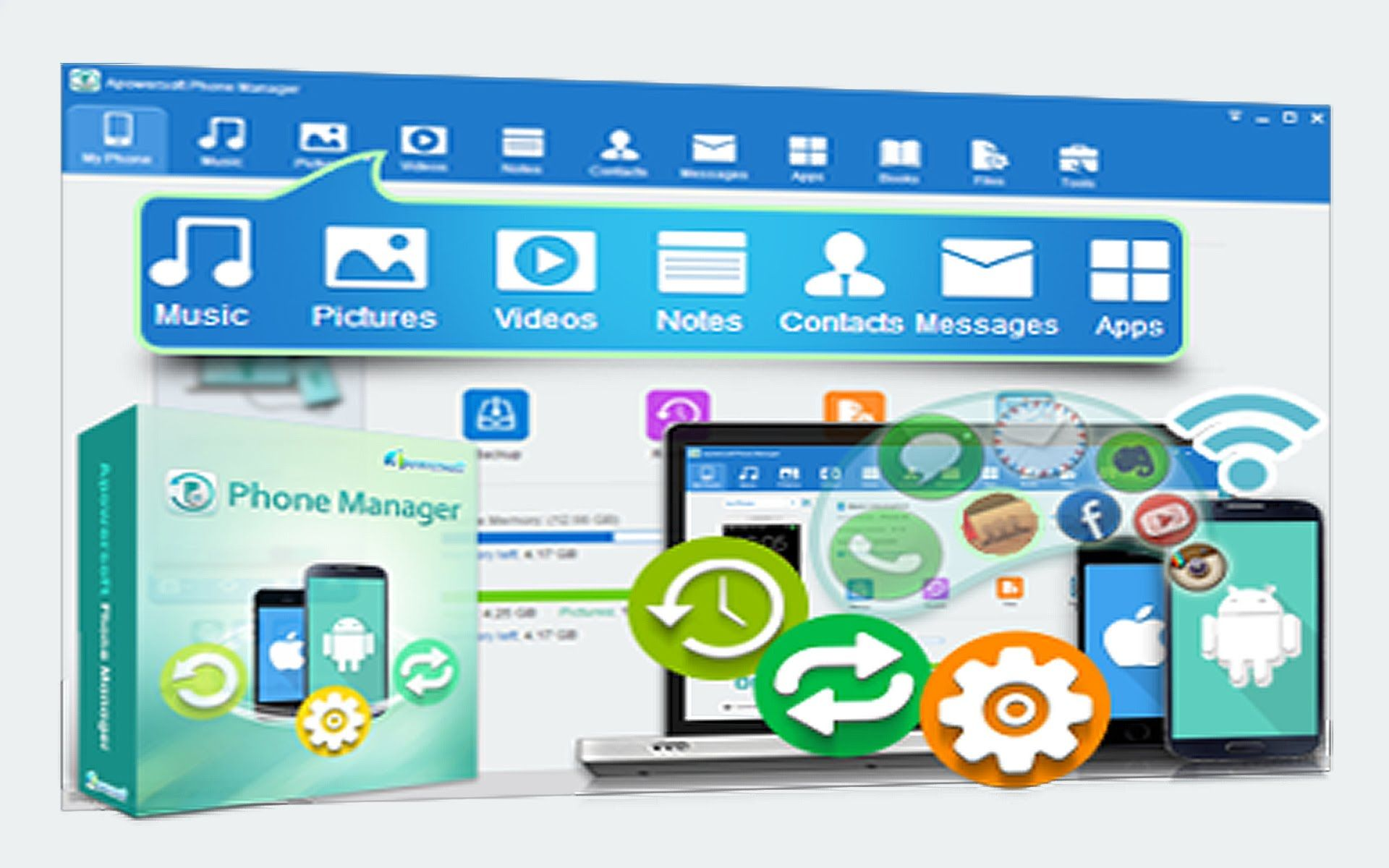 Apowersoft phone manager pro 2 8 4 crack full download